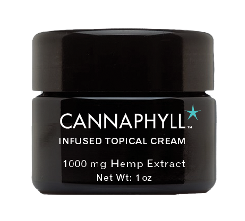 Cannaphyll Infused Topical Cream (1oz)